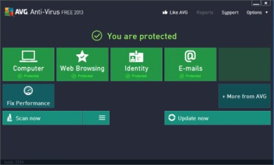 AVG AntiVirus FREE 17.2.3008 screenshot