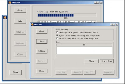 AVI to DVD Maker 3.9 screenshot
