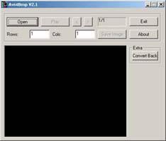 Avi4Bmp 2.4 screenshot
