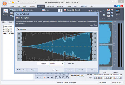 AVS Audio Editor 9.0.1.530 screenshot
