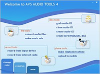 AVS Audio Tools tunny 4.3 screenshot
