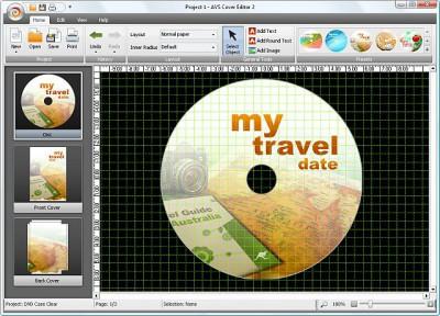 AVS Cover Editor 2.0.1.3 screenshot