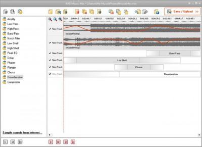AVS Music Mix 3.8.1.116 screenshot