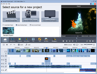 AVS Video Editor 8.1.1.311 screenshot