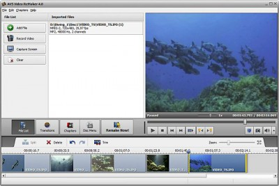 AVS Video ReMaker 6.1.2.217 screenshot