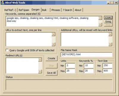 AWT 2008-01-03 screenshot