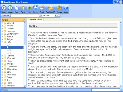 Baby Boomer Bible Study 14.11 screenshot