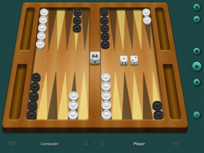 Backgammon Classic 7.2 screenshot