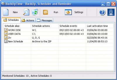 BackUpTime 1.7.4050 screenshot