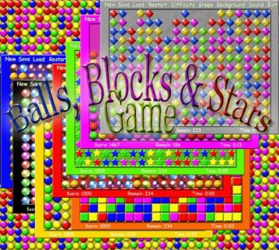 Balls Blocks and Stars Game 2.1.0 screenshot