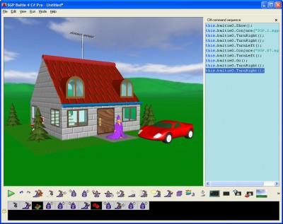 Baltie 4 C# 4.0 screenshot
