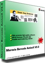 Barcode ActiveX Professional 3.8 screenshot