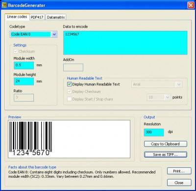 barcode image generator. Barcode Generator Software