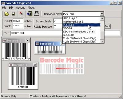 Barcode Magic 3.1 screenshot