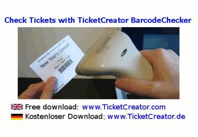 BarcodeChecker - Eintrittskarten prüfen 3.1 screenshot