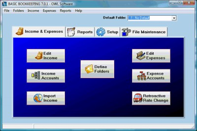 Basic Bookkeeping 7.1.2 screenshot