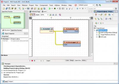 BasicAudio VCL 8.0 screenshot