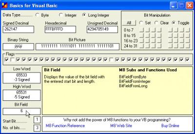 Basics for Visual Basic 1.00.31 screenshot