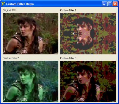 BasicVideo VC++ 8.0 screenshot