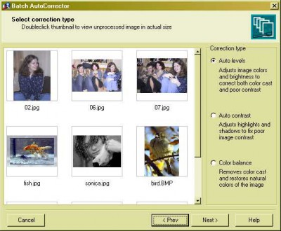 Batch AutoCorrector 0.8 screenshot
