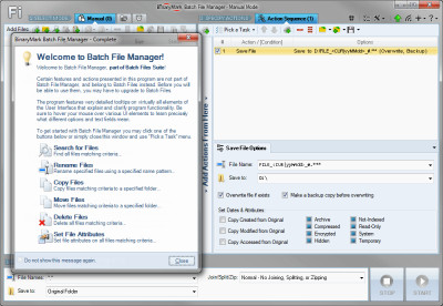 Batch File Manager Free 5.0.28 screenshot