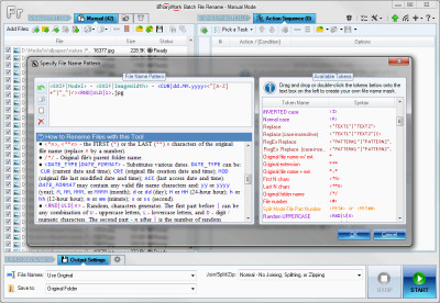 Batch File Rename Free 5.0.28 screenshot
