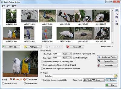 Batch Picture Resizer 4.0.4 screenshot