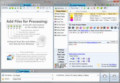 Batch RegEx Free 5.0.28 screenshot