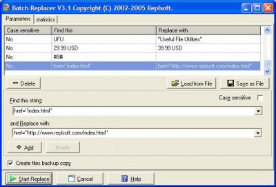 Batch Replacer 4.0 screenshot