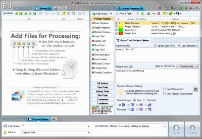 Batch Text File Editor Free 5.0.28 screenshot