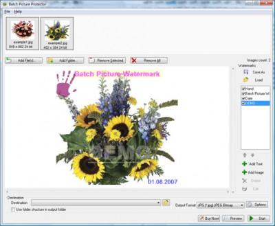 Batch Watermark Photos 3.0.2 screenshot