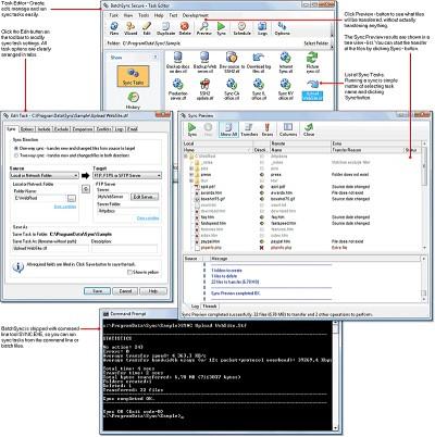 BatchSync FTP 4.0 screenshot