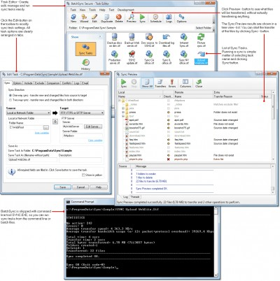 BatchSync Secure FTPS/SFTP 4.0 screenshot