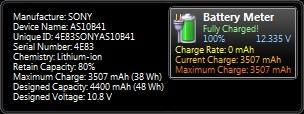 Battery Meter 2.3 screenshot