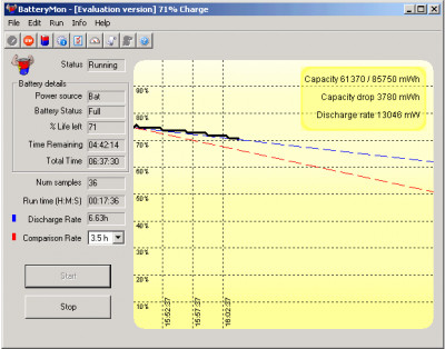 BatteryMon 2.1.1010 screenshot