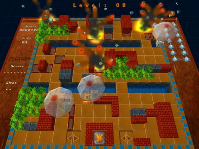 Battle Rush:Tanks 1.140 screenshot