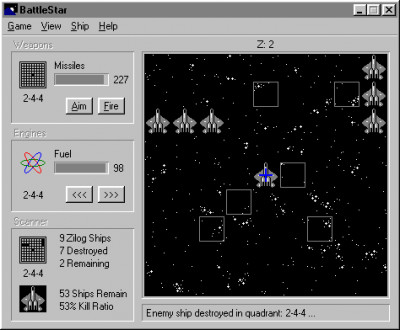 BattleStar 2000 3.5 screenshot