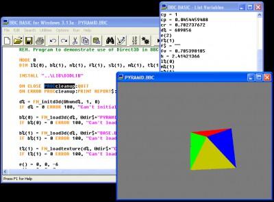 BBC BASIC for Windows 5.94a screenshot