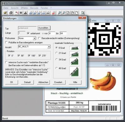bcTester Barcode Lesen aus Dateien 5.0.0.231 screenshot