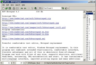 BDV Notepad 5.0 screenshot