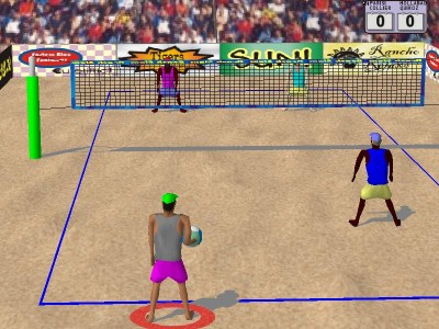 pics of volleyball. Volleyball 1.02 screenshot