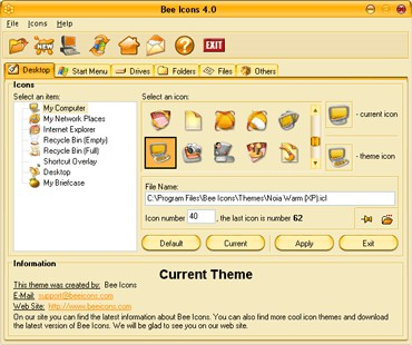 Bee Icons 4.0.3 screenshot