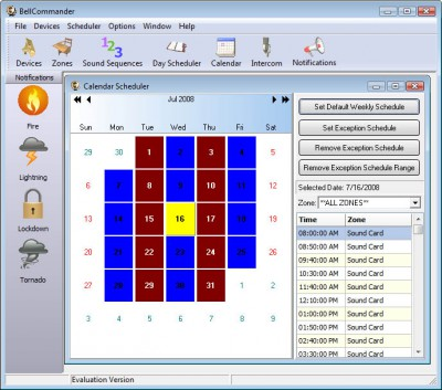 BellCommander Network Intercom System 4.11 screenshot