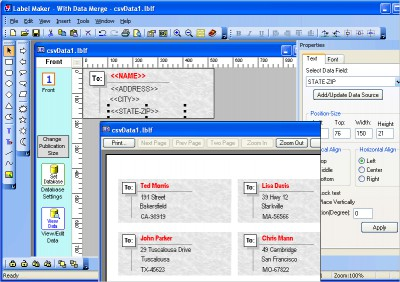 Belltech Label Maker Pro 2.1.2 screenshot
