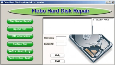 Best Flobo HDD Repair 6.2 screenshot