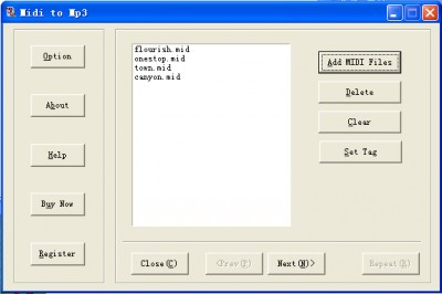 Best MIDI to MP3 1.4.2 screenshot