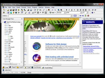 BestAddress HTML Editor 2009 Professional 17.0.0 screenshot
