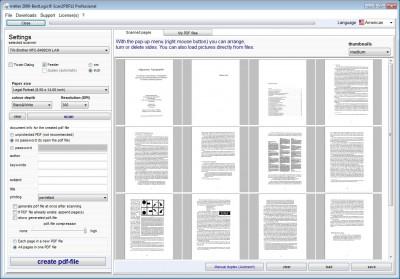 BestLogic Scan2PDF Professional 14 screenshot