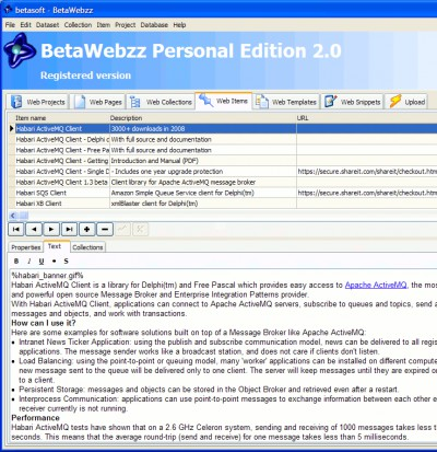 BetaWebzz 2.0 screenshot