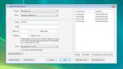Better File Rename 5.0 screenshot
